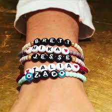 beaded bracelet name images Men 39 s love morse code blessing glass bead bracelet dana levy ltd jpg