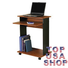 Rolling Laptop Desk by Computer Cart Desk Portable Rolling Laptop Book Stand Work Station