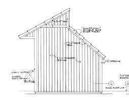 Gambrel Barn Designs Saltbox Shed Designs Free