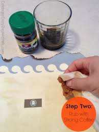 Map Paper How To Make Treasure Map Paper In 2 Steps Celebrate Every Day