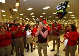 when can you shop target online for black friday target reports strong start to black friday weekend online and in