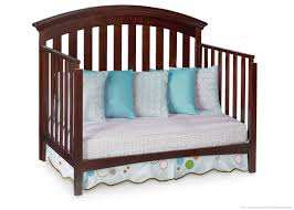 Crib Converts To Bed by Delta Bentley 4 In 1 Convertible Crib Chocolate Walmart Canada