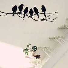 wall art marvellous birds wall art bird decor 3d birds wall