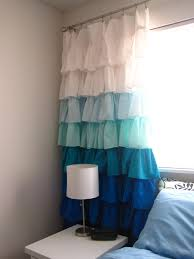 Ruffle Bottom Blackout Panel by Diy Ruffle Curtains Diy Curtains Curtains And Nursery