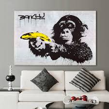 Graffiti Wall Art Stickers Popular Banksy Graffiti Art Buy Cheap Banksy Graffiti Art Lots