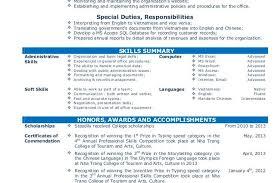Public Administration Resume Sample by Cv Resume Sample For Fresh Graduate Of Office Administration Cv