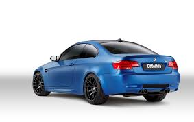 Bmw M3 Colour 2013 Bmw M3 Coupe Frozen Limited Edition Offered In Three Colour