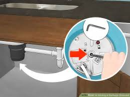 Ways To Unclog A Garbage Disposal WikiHow - Clogged kitchen sink with garbage disposal and dishwasher