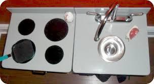 Play Kitchen Sink by Diy Kids Play Kitchen 2 Little Supeheroes2 Little Supeheroes