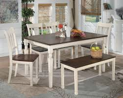 Cottage Dining Room Table Whitesburg Rectangular Dining Table From Ashley D583 25