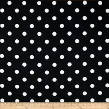 black and white fabric pattern premier prints polka dot black white discount designer fabric