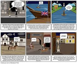 paul revere s ride book deposition vs paul revere s ride storyboard by jacobfarlow123