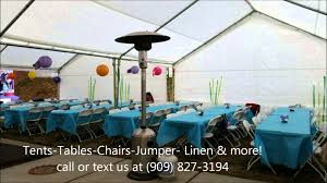 tent table and chair rentals tables and chairs rentals fontana ca party jumper rentals ten