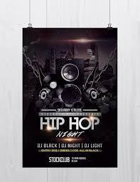 stockpsd net u2013 free psd flyers brochures and more hip hop music