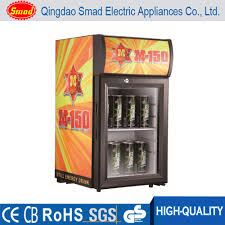 electric beer fridge glass door bar fridge small display