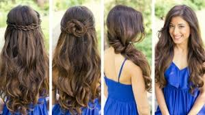Hochsteckfrisuren Locken Flechten by 100 Frisuren Lange Haare Locken Flechten Festliche Frisuren