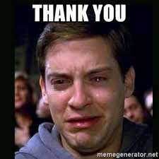 Why Are You Crying Meme - thank you crying peter parker meme generator