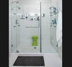 subway tile in bathroom ideas glass subway tile bathroom ideasherpowerhustle com