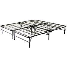 full size folding metal platform bed frame greenhome123