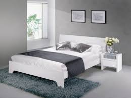 chambre contemporaine blanche chambre blanche noir interieure ado gris idee enchanteur