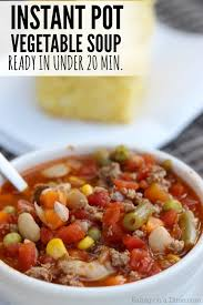 instant pot beef vegetable soup recipe eating on a dime
