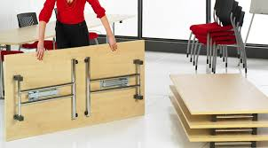Table With Folding Legs Heavy Duty Folding Table Costa Home