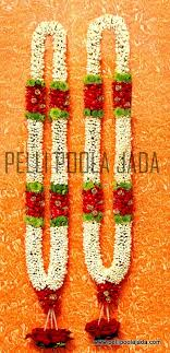 flower garlands for indian weddings jasminegarland jg009 bangalore pelli poola