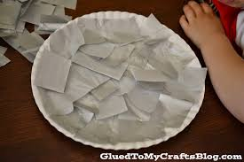 plate shark kid craft