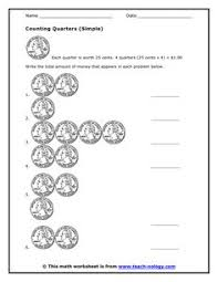 Counting Coins Worksheet Generator Counting And Coloring Worksheets Ideal With This