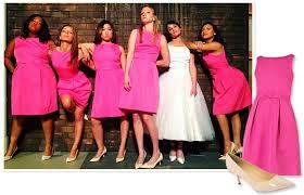 target bridesmaid the glee bridesmaids look target and ivanka instyle