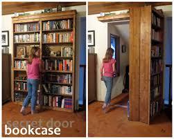 hidden bookcase door hidden bookcase door pic 1 flush mount