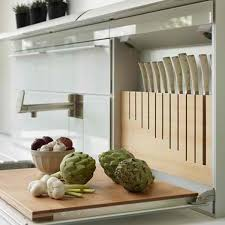 kitchen knives storage knife storage solutions inside arciform