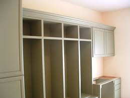 custom cubby laundry room cabinet by peabody enterprises inc