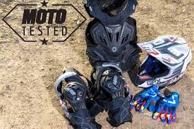 motocross safety gear moto magazine reviews leatt gear leatt protective neck braces