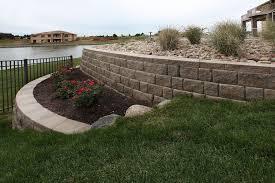retaining walls u2013 project type u2013 watkins concrete block