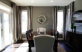 admirable grey dining room color painting design ideas showing