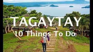 10 things to do in tagaytay