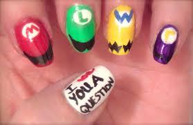 fandom friday super mario brothers nail art wnac2015 youtube