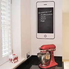 mobile phone chalkboard wall sticker by leonora hammond mobile phone chalkboard wall sticker