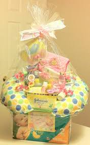 Unusual Gift Baskets Baby Unique Gift Basket Good Idea To Use The Empty Diaper