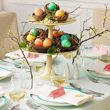 Easter Decorations Table Setting by 118 Best Table Settings For Holidays Images On Pinterest Parties