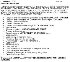 Scrum Master Sample Resume by The Worst Developer Resume In The World Job Tips For Geeks