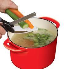 ciseau de cuisine honana hn cs80 2 en 1 couteau de cuisine et ciseaux de coupe cutter