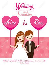 Invitation Engagement Card Wedding Invitation Card Template Bride And Groom Love