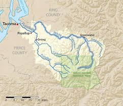 Winthrop Washington Map by White River American Rivers