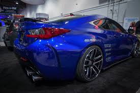 custom lexus rc 2015 lexus rc f built by beyond marketing sema spotlight photo