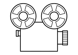 coloring page film projector img 11315