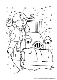 bob builder coloring pages educational fun kids coloring