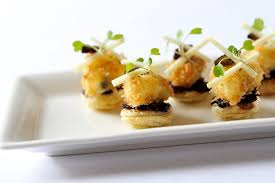 mini canape tart canapé recipe great chefs