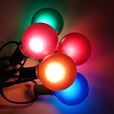 g50 globe string lights set multi satin c7 patio lights